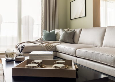 Interior Photography reception coffee table-min